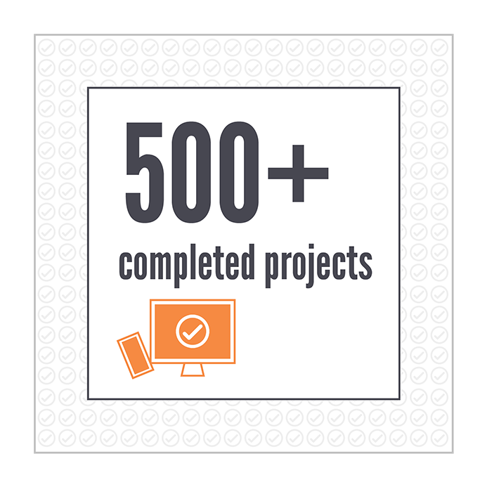 We've completed over 500 projects at Troy Web.
