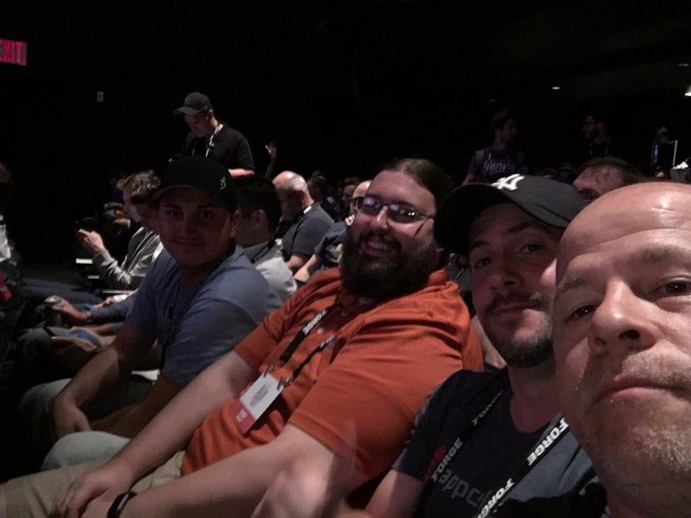 Troy Web Team Laravel at Laracon 2017