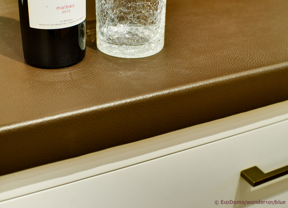 Luxury Leather Countertops