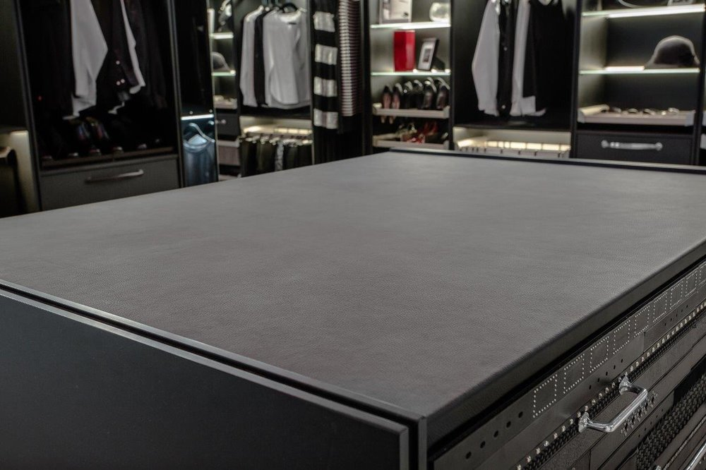 Luxury Leather Countertops