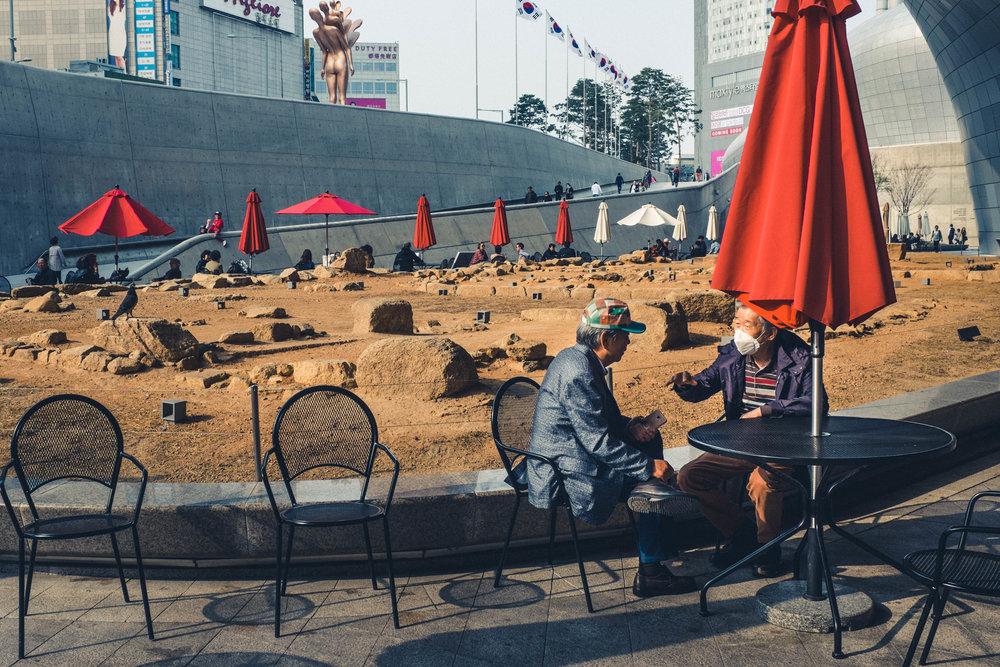 Dongdaemun Design Plaza, Korea. 2017