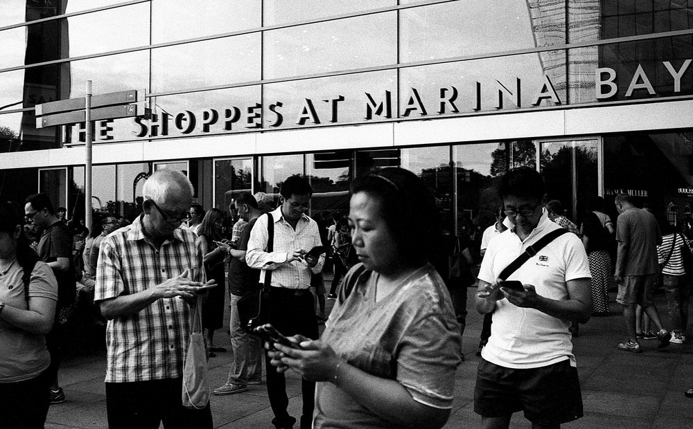 Marina Bay, Singapore. 2016