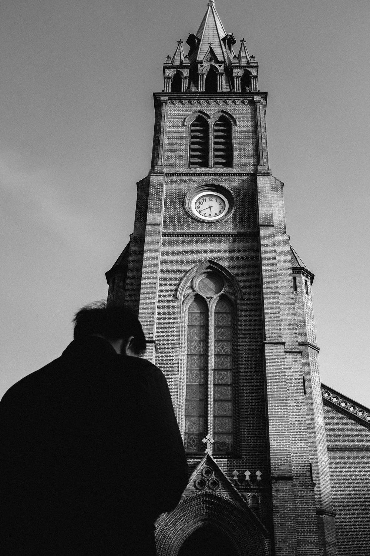 Myeong-dong Cathedral, Korea. 2017