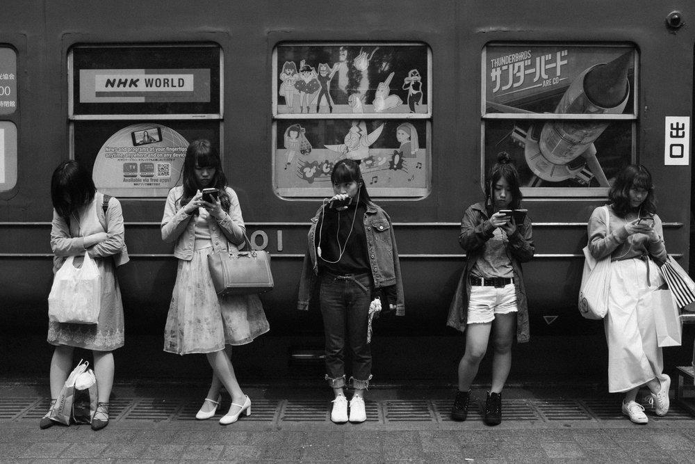 Shibuya, Japan. 2016