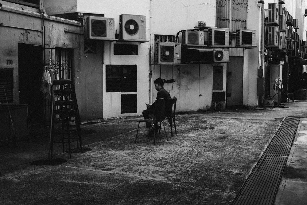 Back Alley, Singapore. 2017