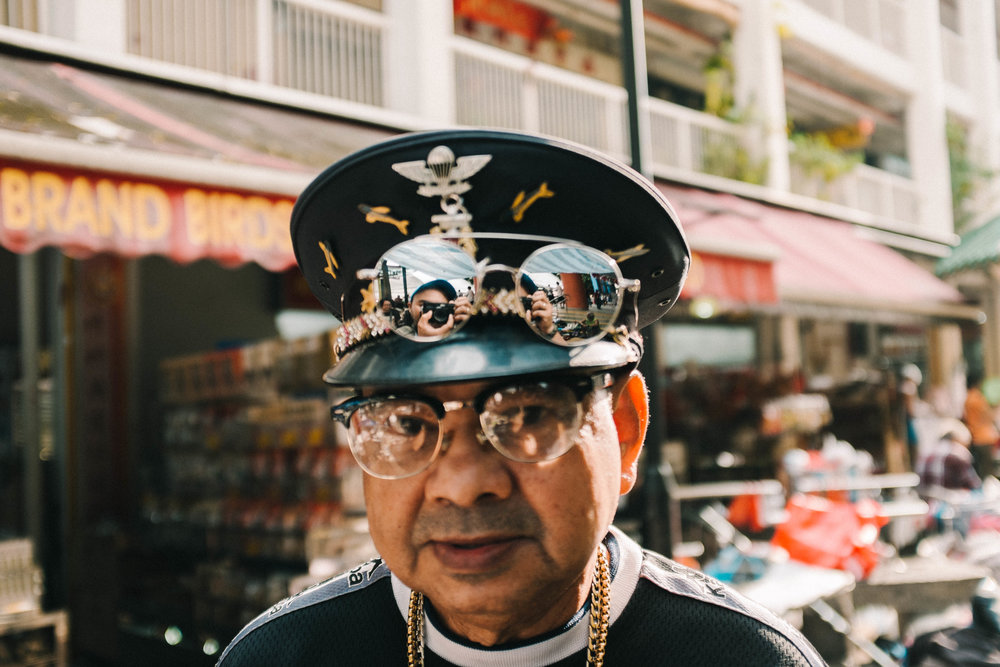 Chinatown Flea Market, Singapore. 2018
