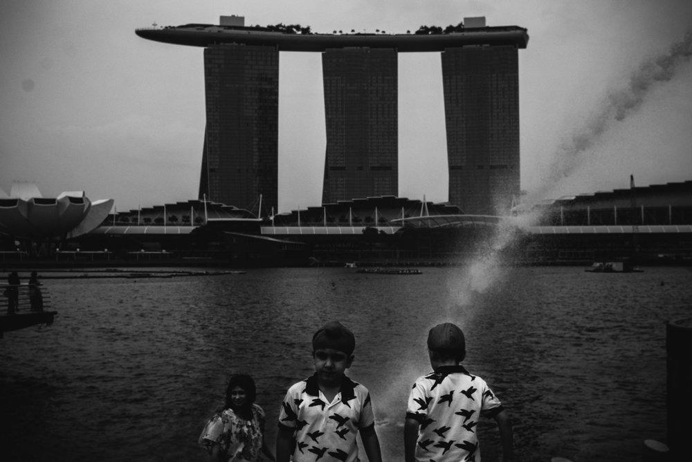 Merlion Park, Singapore. 2018
