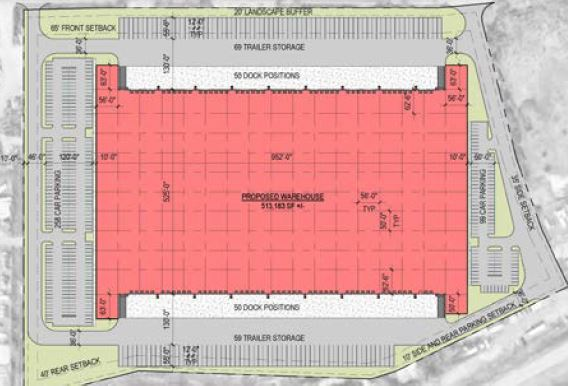 Year : 2017-2019   Size : 513,000 SF   NJ Turnpike, Exit 9  - 27 acre land development of a former sand pit. By right development with minor environmental constraints, including a PILOT agreement negotiation with the Township.  Expected delivery - Q4 2019