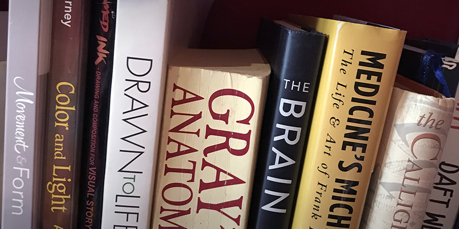 The Brain on my bookshelf