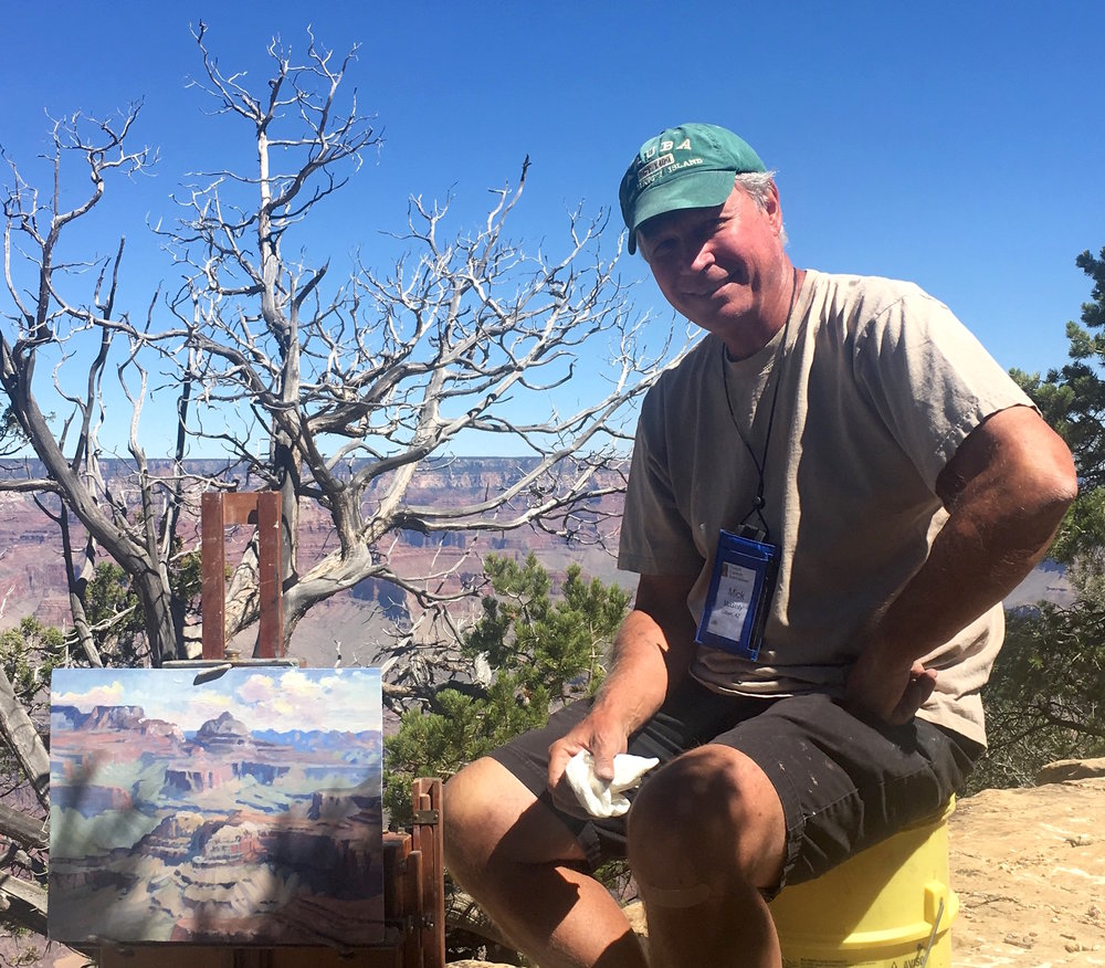 Mick McGinty - Mick's rising recognition among notable American southwest artists includes participation at the 10th Annual Grand Canyon Celebration of Art in 2018.