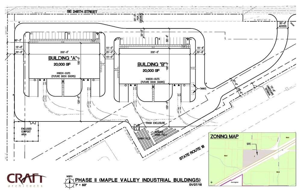Approved Commercial Development Permit - Multiple Phases