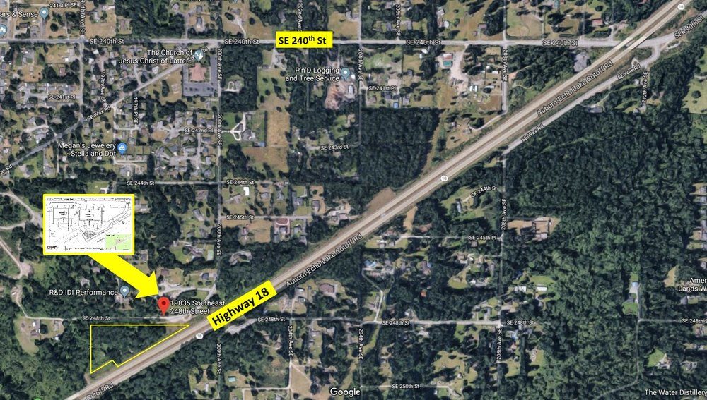 Hwy 18 Industrial or I-502 Development - 19835 SE 248th St, Maple Valley WA