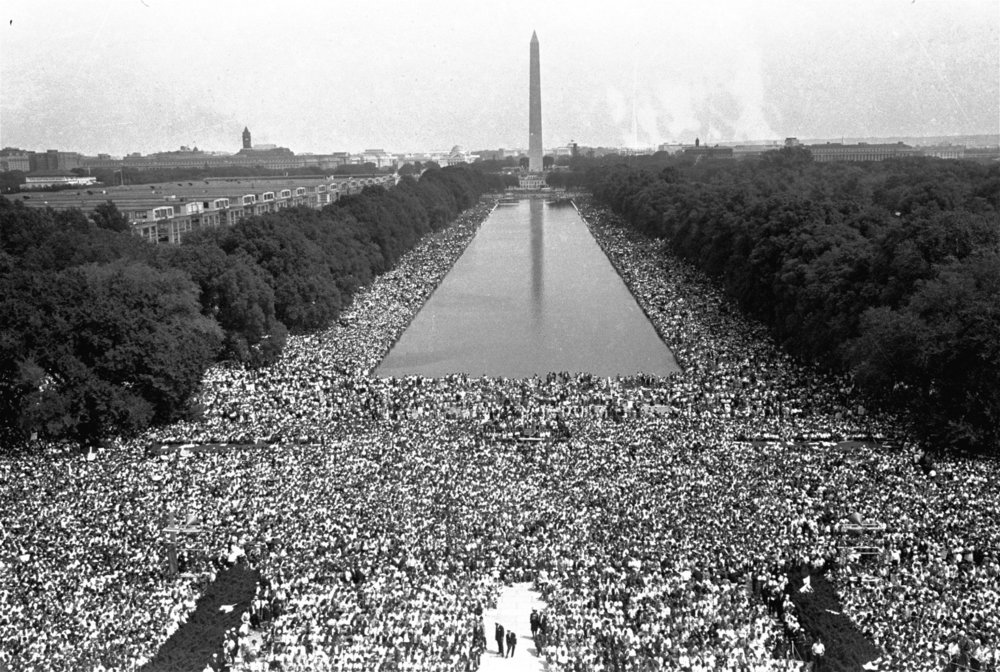 The March on Washington, August 28, 1963