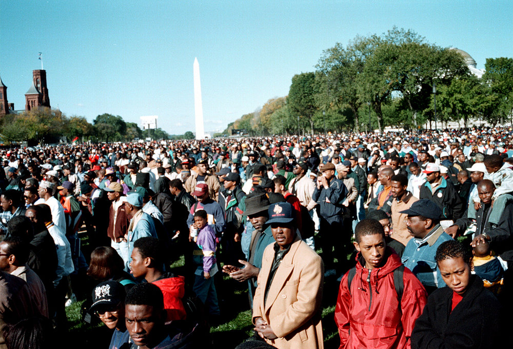 The Million Man March, Washington, DC, October 16, 1995