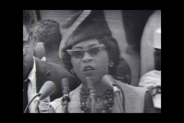Daisy Bates at the 1963 March on Washington