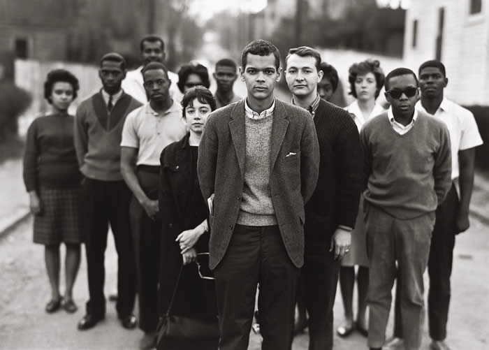 SNCC's Atlanta staff in 1963 (Photo by Richard Avedon)