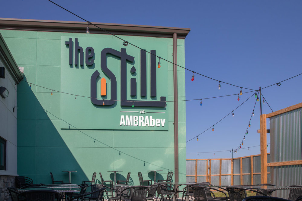 Visit the Still at AMBRAbev - Front Sign Patio.jpg