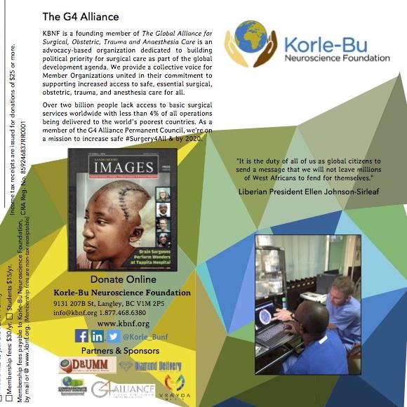 Fundraising Brochure for KBNF. 2017.