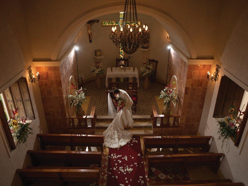 Su boda inolvidable…