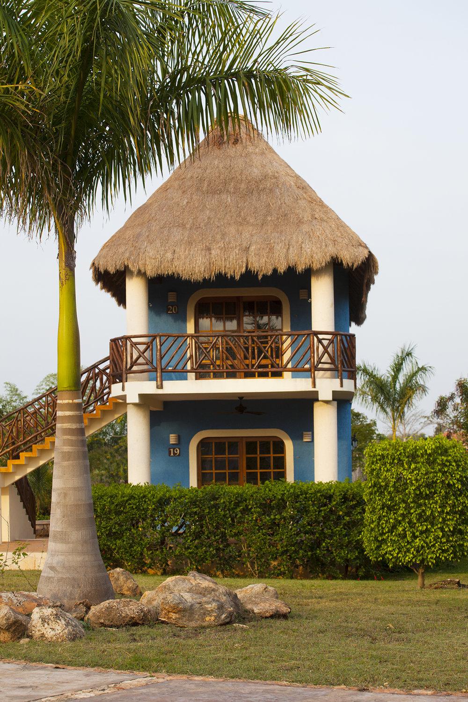 Exterior cabaña