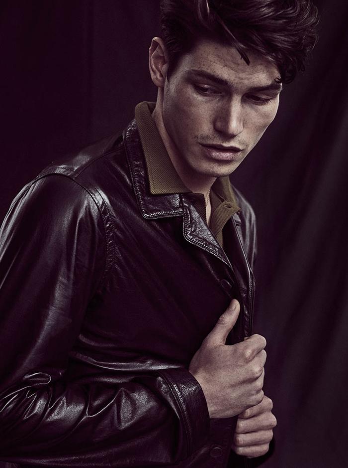 Jacket by Loewe / Top by Sunspel