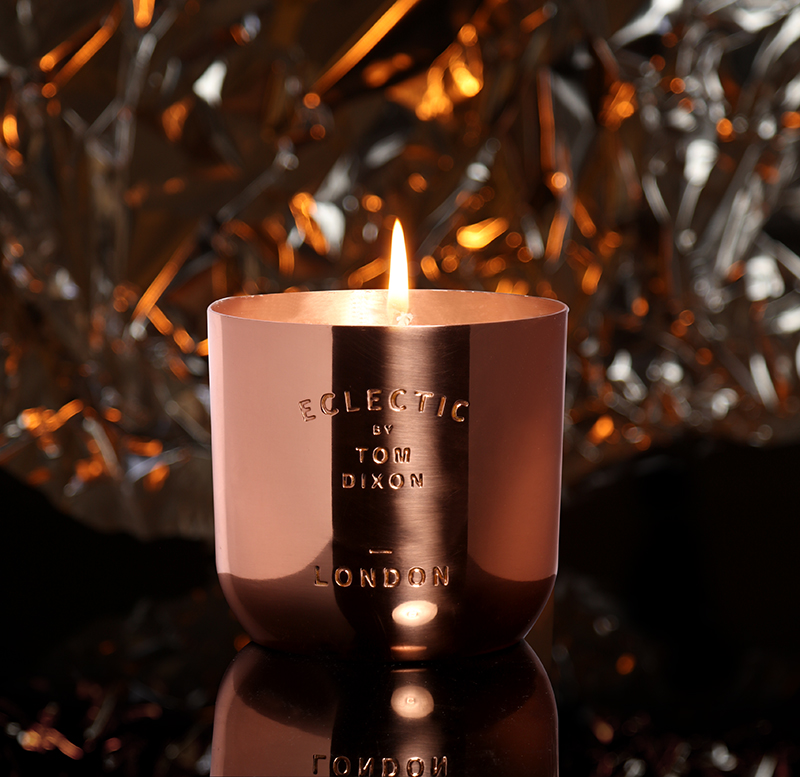 Tom Dixon Eclectic London Candle – £55.00