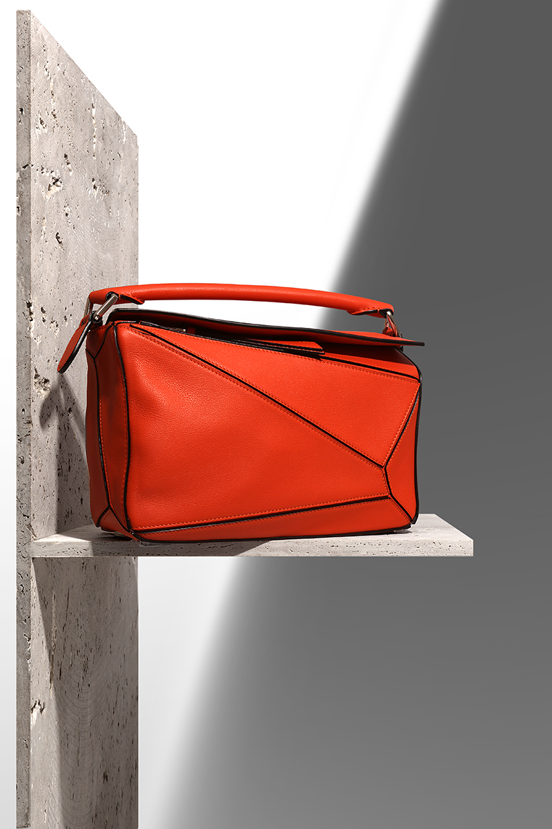 LOEWE Puzzle leather bag via mytheresa.com – £1,525.00
