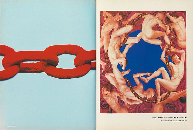 p. 237 (top right) 'Love Sees No Colour', vol. 2, no. 44, May 1992.jpg