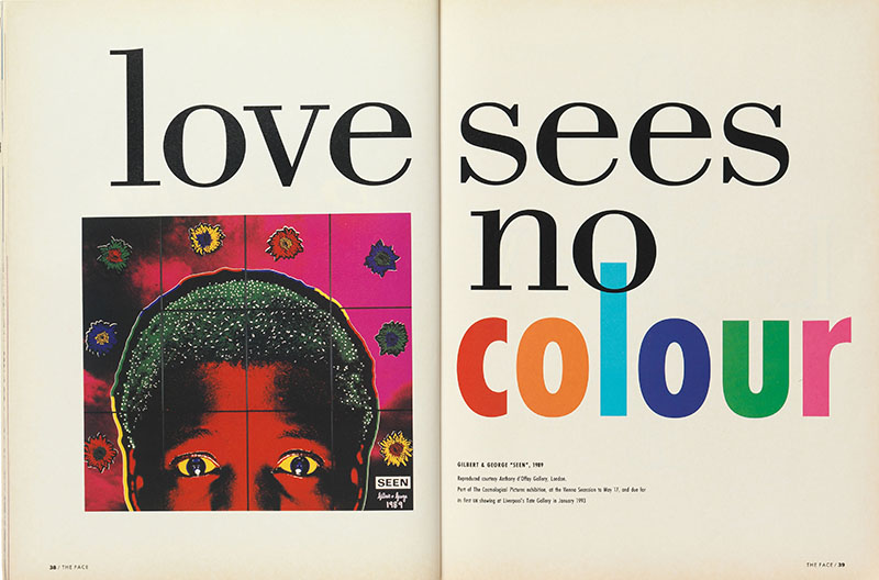 p. 236 (below) 'Love Sees No Colour', vol. 2, no. 44, May 1992.jpg