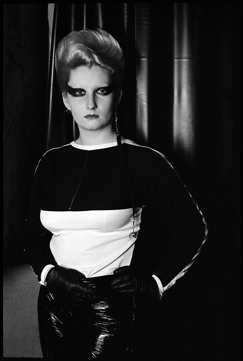 Portrait by Jane England, taken in  SEX , 1976