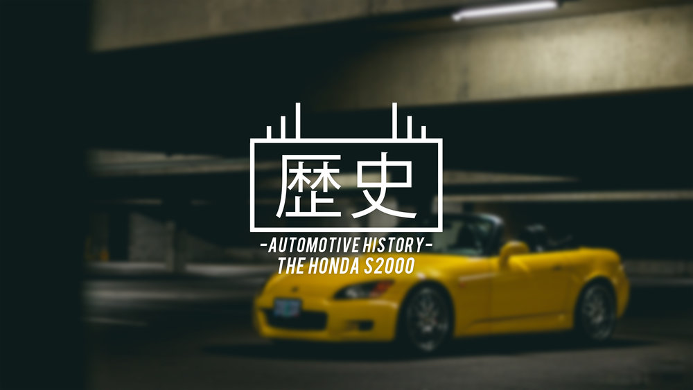 the honda s2000 - automotive history feature on theinfamous tokyo roadster