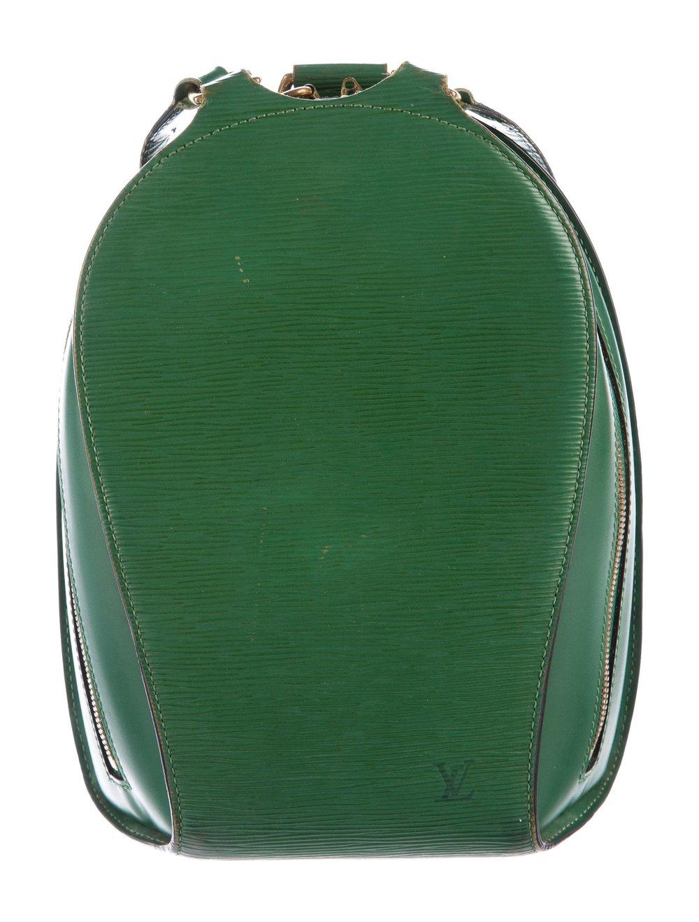 LOUIS VUITTON    Epi Mabillon Backpack, $600, therealreal.com
