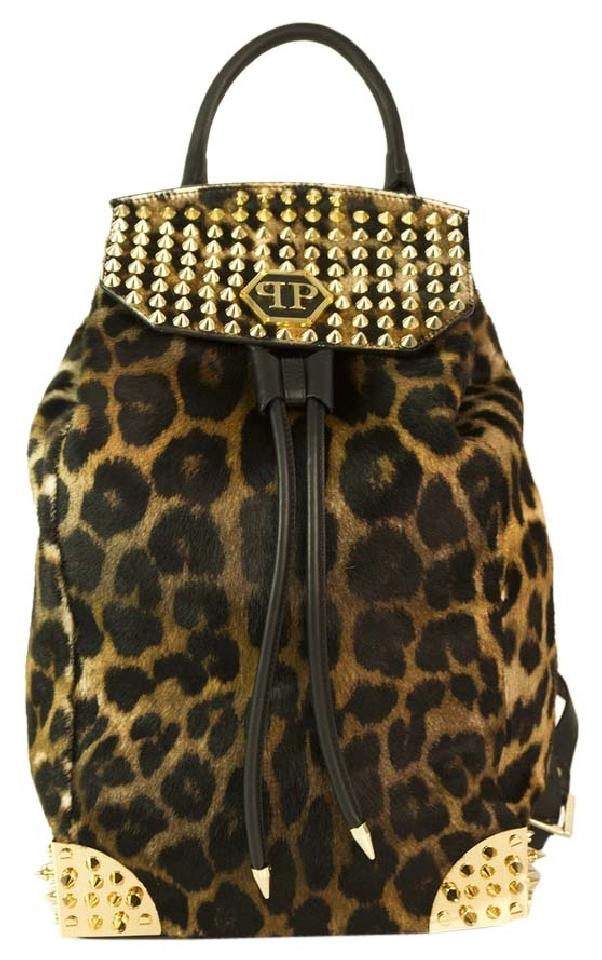 PHILIPP PLEIN     Animal Print Fur Leopard Backpack, $2,845, tradesy.com