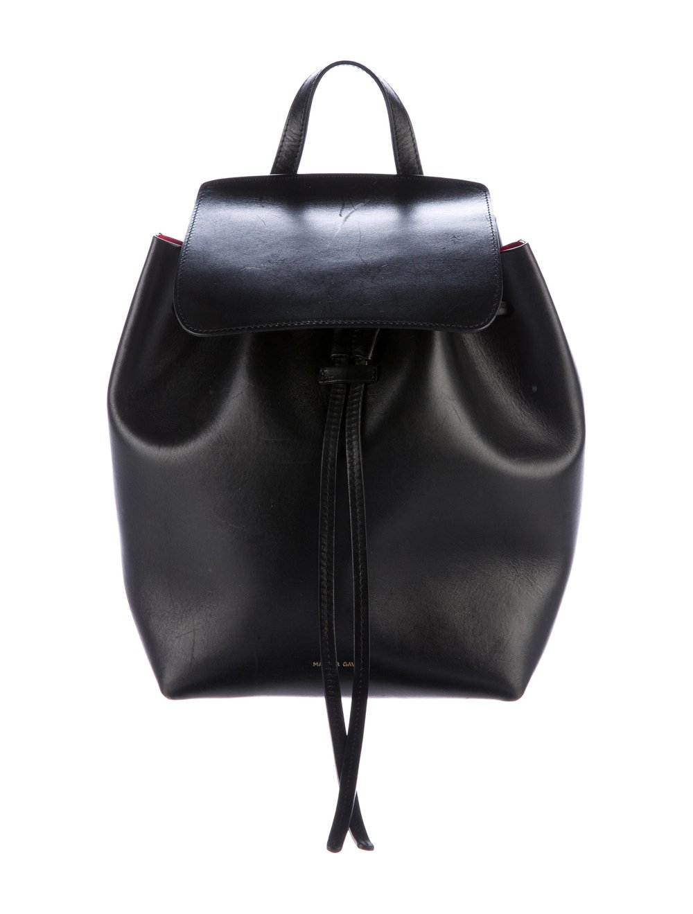 MANSUR GAVRIEL    Mini Vegetable Tanned Backpack, $725, therealreal.com
