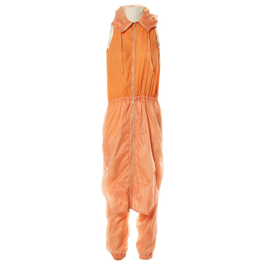 JEAN PAUL GAULTIER Orange Jumpsuit; Size: M; $424.33