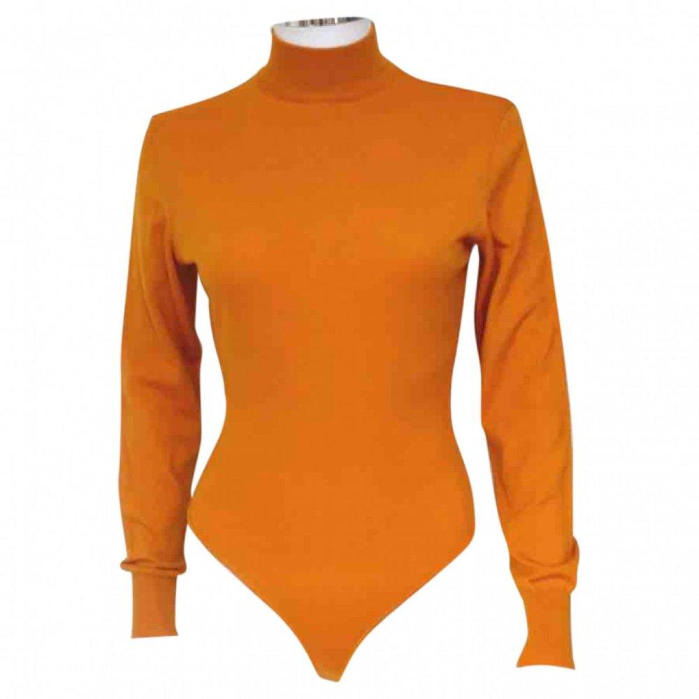 ALAÏA Wool Bodysuit; Size: M; $331.96