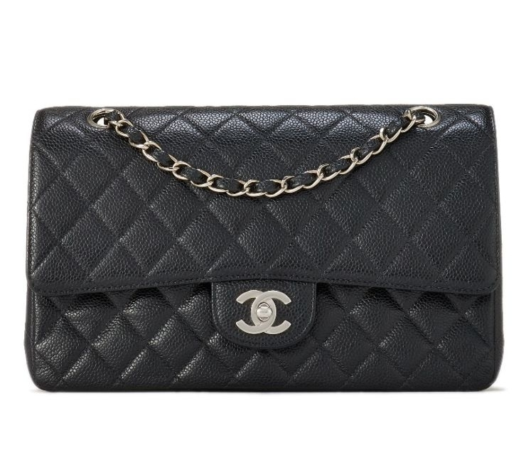 98ac13631635 On the What Goes Around Comes Around Website now: - CHANELBlack Caviar  Classic Double Flap Medium$4,500.00