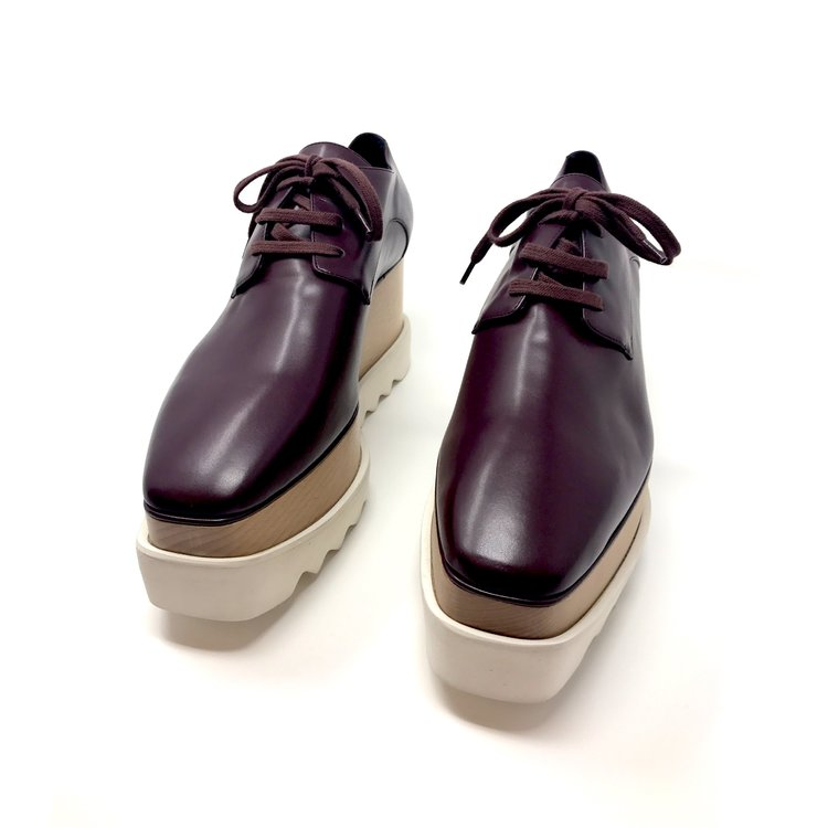 STELLA MCCARTNEY - ELYSE PLATFORM OXFORDS ($590.00)