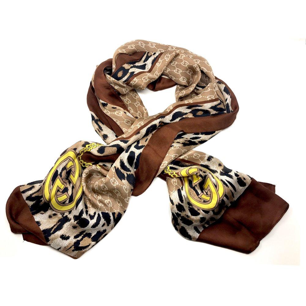 GUCCI - VINTAGE LONG SHEER SCARF ($200.00)