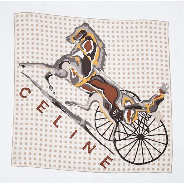 CÉLINE - SILK SCARF ($195.00)
