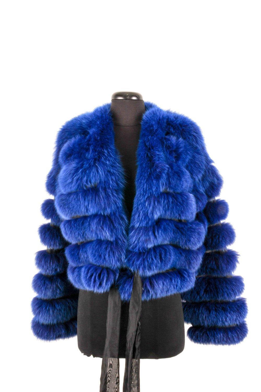 Giorgio Armani - Blue Fur Jacket ($450.00)