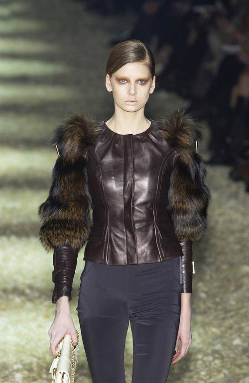 Tom Ford for Gucci Fall 2003 Fox Fur