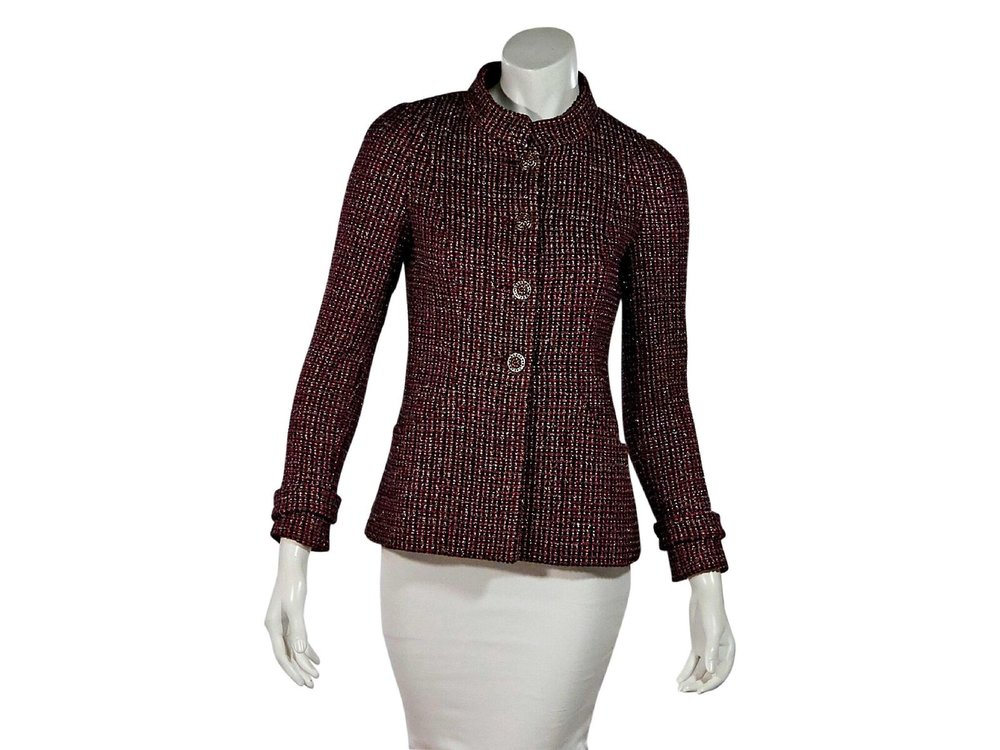 Chanel  Multicolor Boucle Jacket; $2,995.00