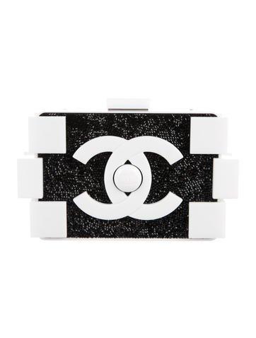 Crystal-Embellished Logo Clutch - $6,200