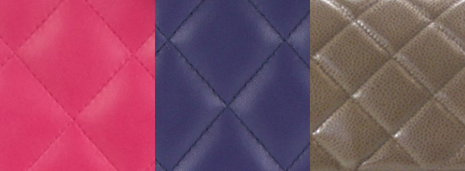 Photo: Vauntr ( From Left To Right: Fuchsia, Purple, Brown)