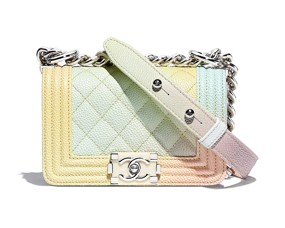 Chanel Mini Boy Bag  $3,100