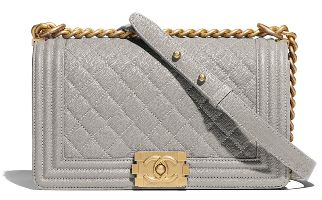 photo courtesy of chanel - Chanel Boy Bag – Medium9.8″ W x 5.7″ H x 3.5″ DLeather Prices Start at $4,700 for Quilted Calfskin