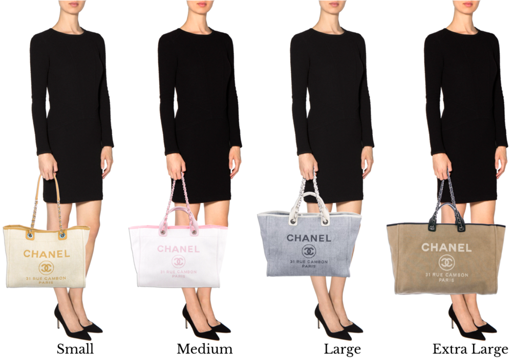 4444eb167ebe CHANEL DEAUVILLE TOTE BAGE GUIDE — The Posh Net
