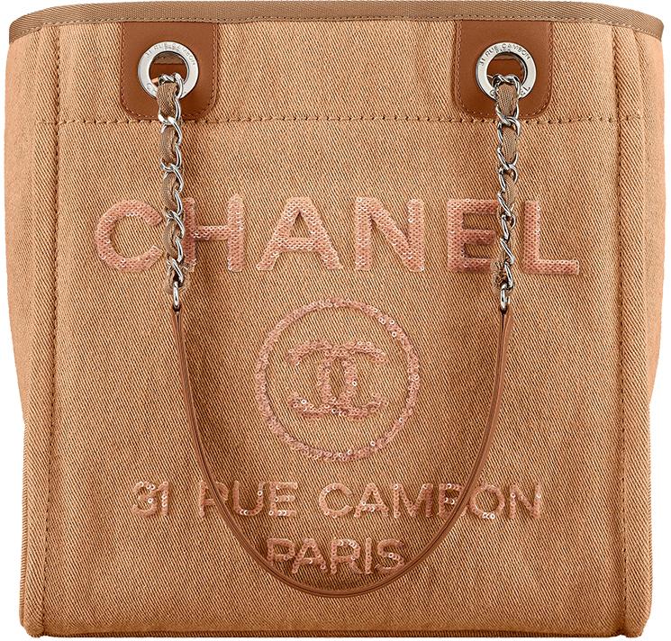 Chanel Mini Deauville Tote Bag