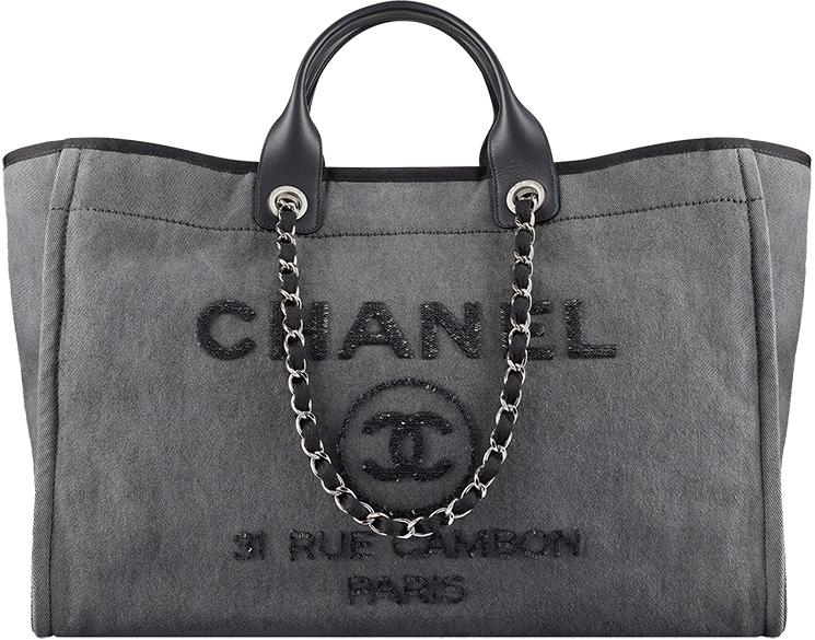 Chanel Small Deauville Tote Bag